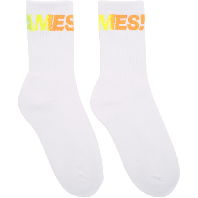 Photo: Thames White Fantastic Socks