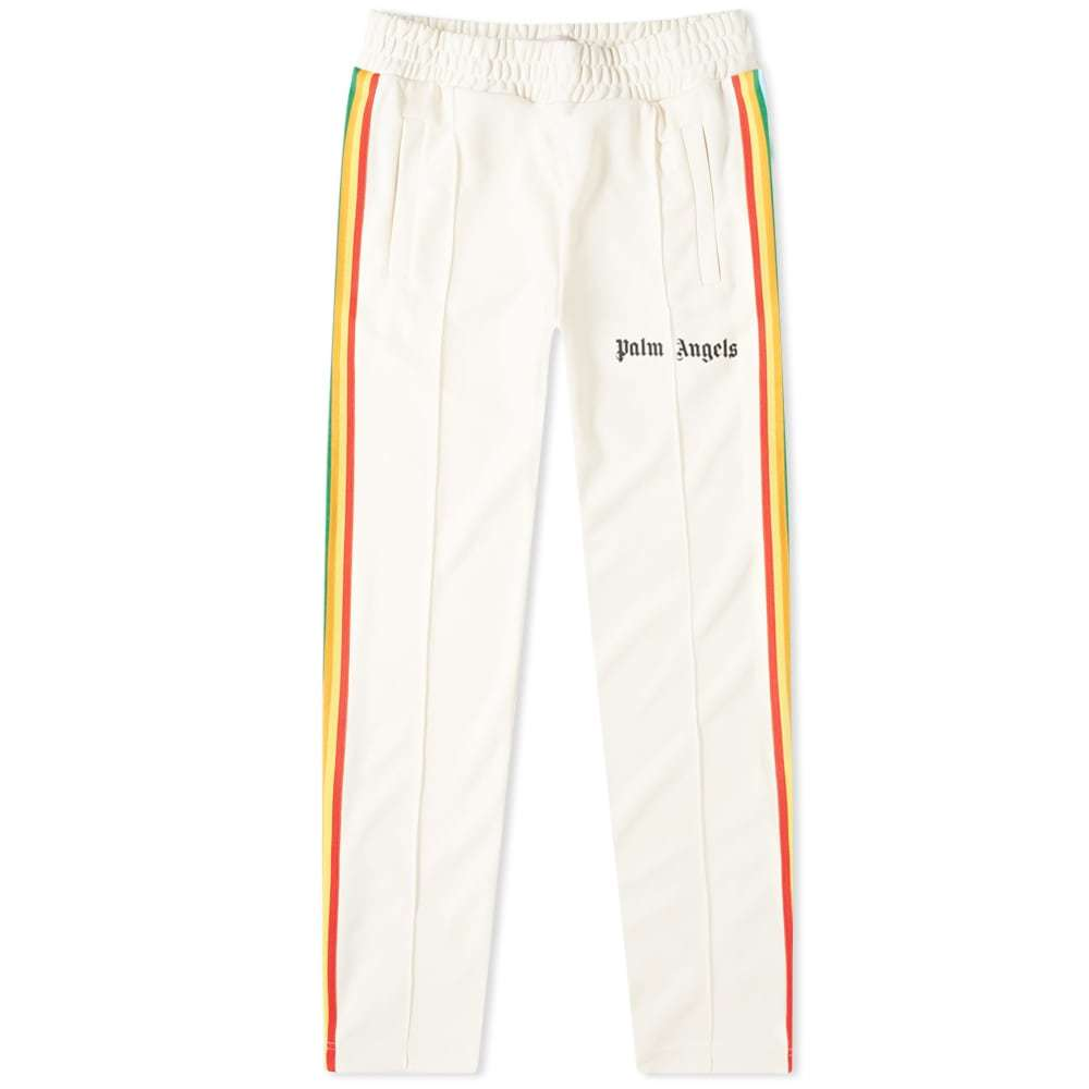 Photo: Palm Angels Rainbow Track Pant White