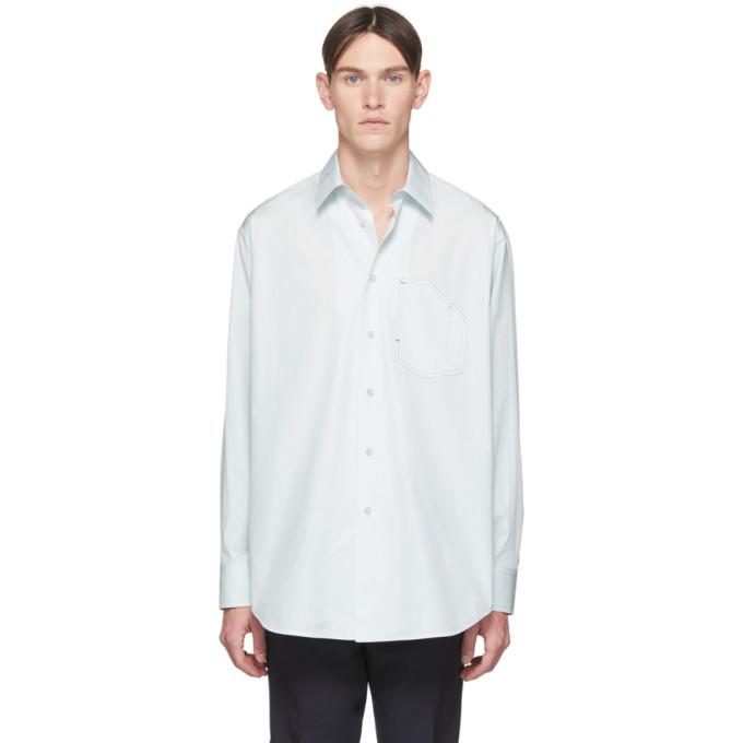 Photo: Jil Sander Blue Pocket Shirt