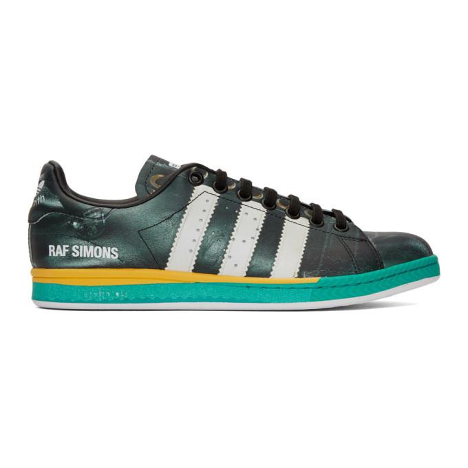Photo: Raf Simons Black adidas Originals Edition Samba Stan Smith Sneakers
