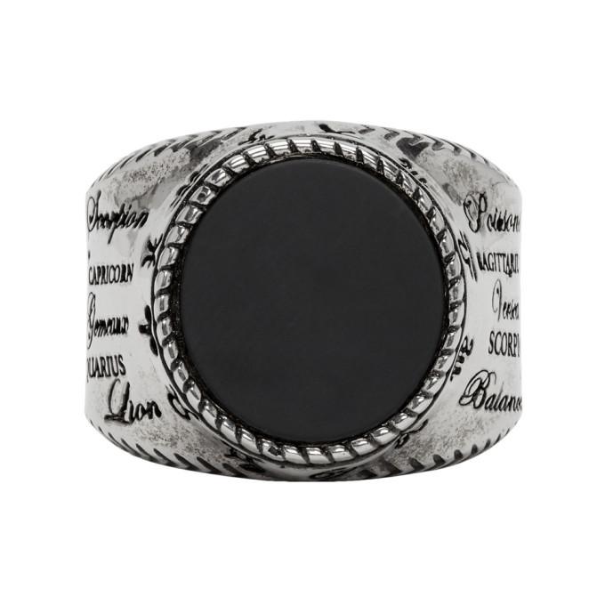 Photo: Givenchy Silver Zodiac Ring