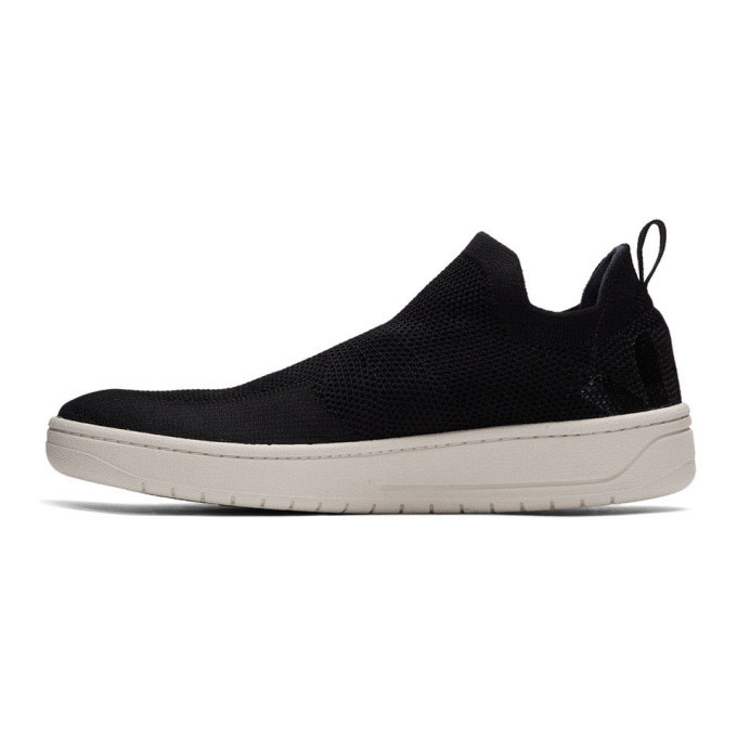Lemaire Black Veja Edition Aquashoe V-Knit Bastille Sneakers