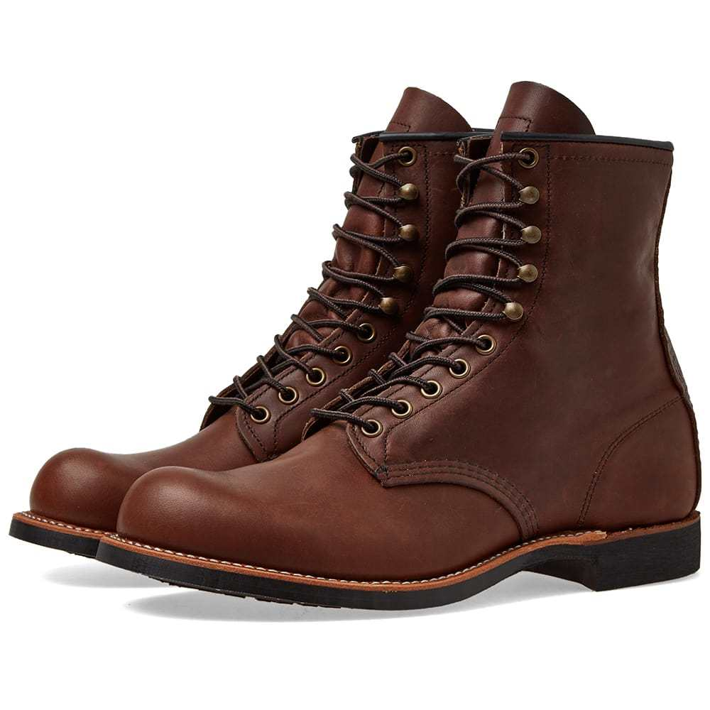 """Photo: Red Wing 2943 Heritage Work 8"""" Harvester Boot Amber Harness"""
