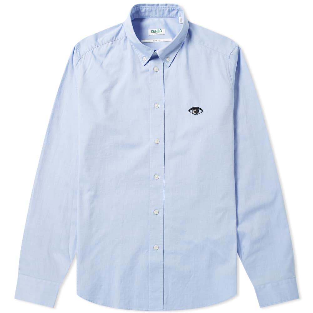 Photo: Kenzo Eye Logo Button Down Oxford Shirt