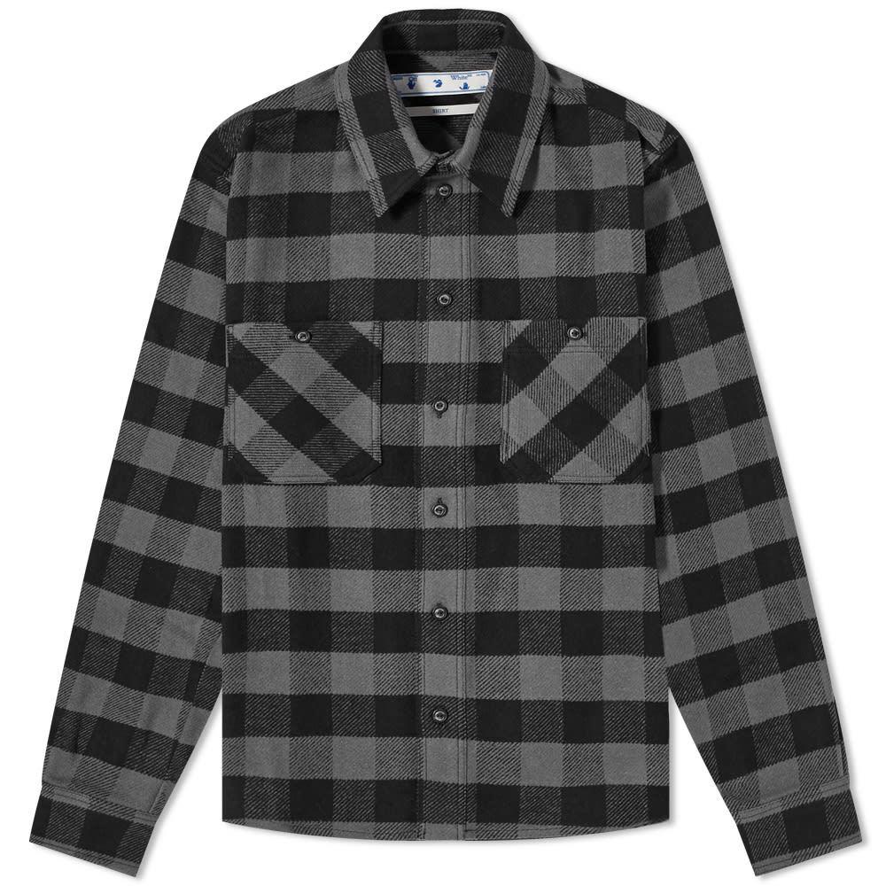Photo: Off-White Arrow Flannel Shirt