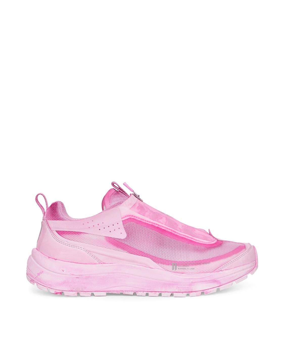 Photo: Salomon Boris Bidjan Saberi Bamba 2 Low Sneakers Pink Panther