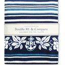 RRL - Indigo-Dyed Cotton-Terry Beach Towel - Blue
