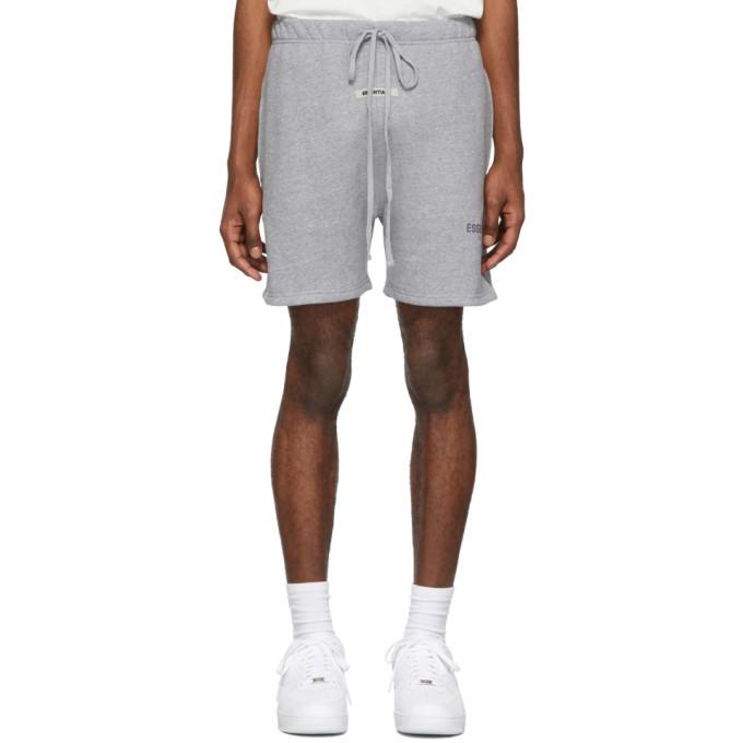 Photo: Essentials Grey Reflective Shorts