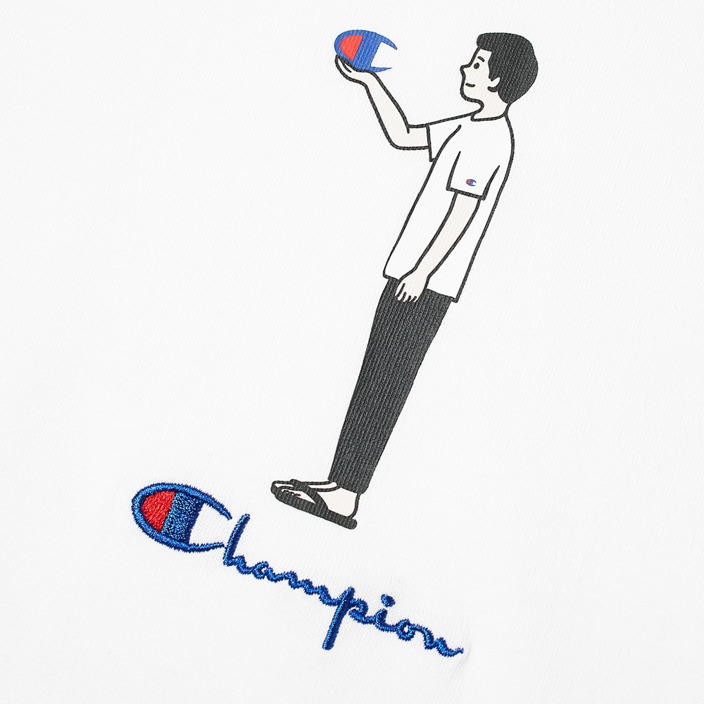 Champion Reverse Weave Standing Character Tee