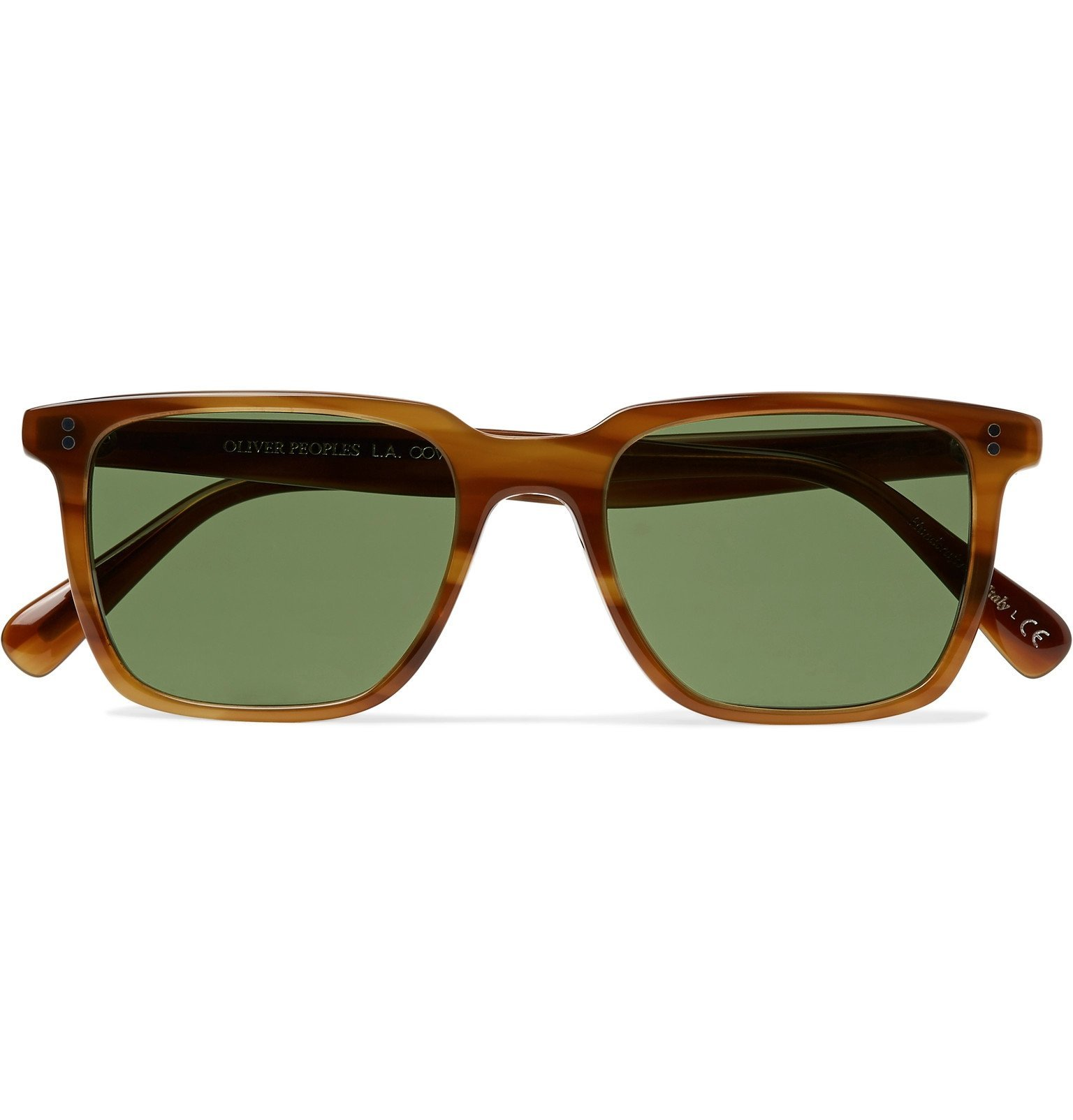 Oliver Peoples - Lachman Square-Frame Acetate Sunglasses - Tortoiseshell