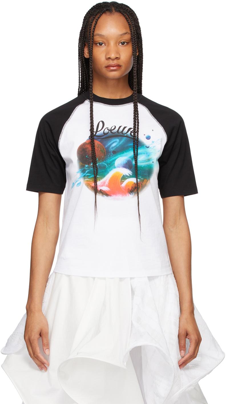 Photo: Loewe White & Black Paula's Ibiza Landscape T-Shirt