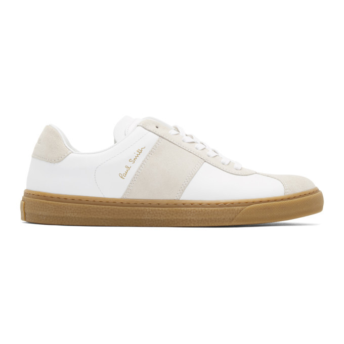 Photo: Paul Smith White Levon Sneakers