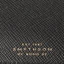 Smythson - Panama Cross-Grain Leather Currency Case - Black