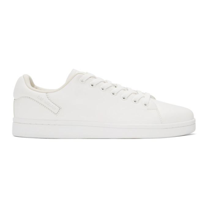Photo: Raf Simons White Orion Sneakers