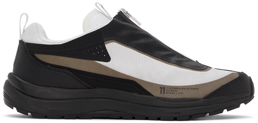 11 by Boris Bidjan Saberi Khaki & Black Salomon Edition Odyssey Sneakers