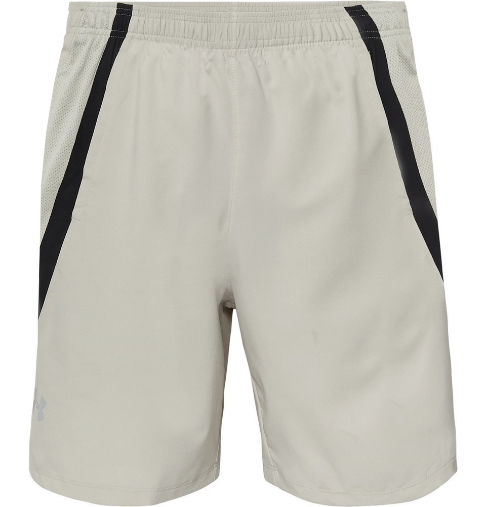 Photo: Under Armour - Launch SW HeatGear Shorts - Beige