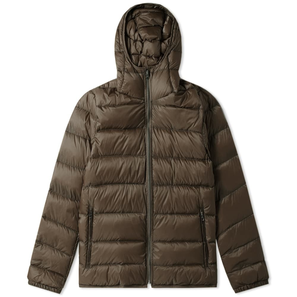 Photo: Ten C Hooded Down Jacket Olive