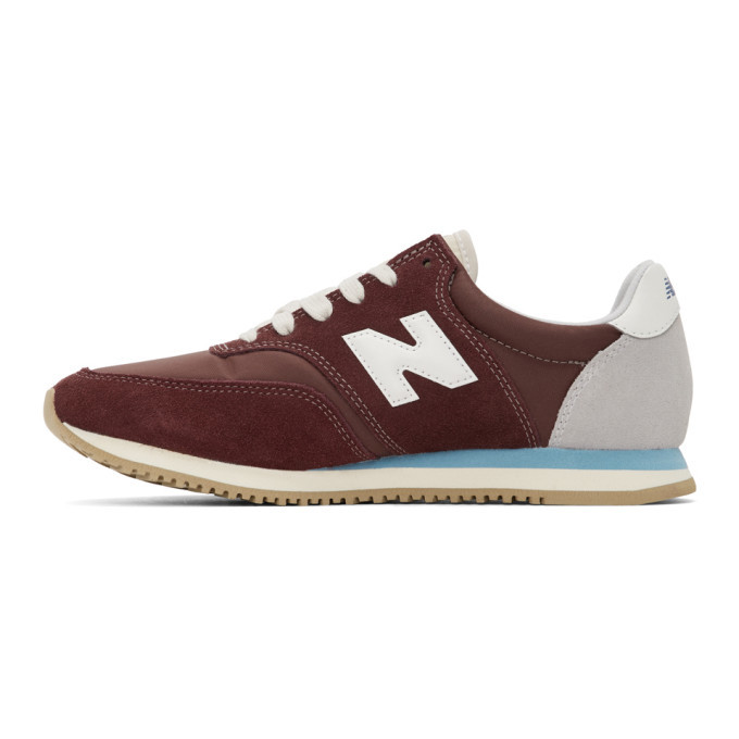 New Balance Burgundy COMP 100 Sneakers