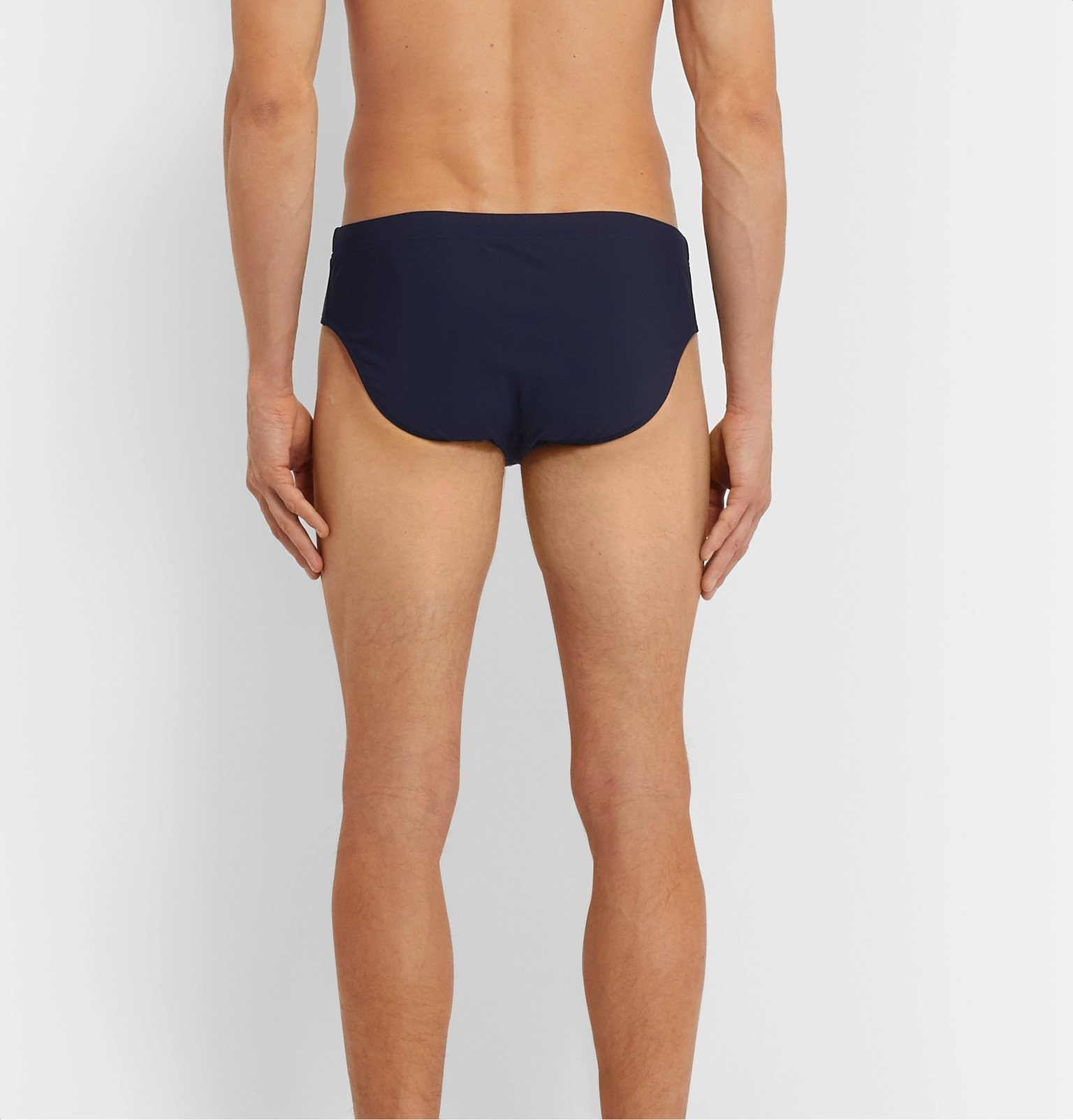 Dolce & Gabbana - Stretch-Shell Swim Briefs - Blue
