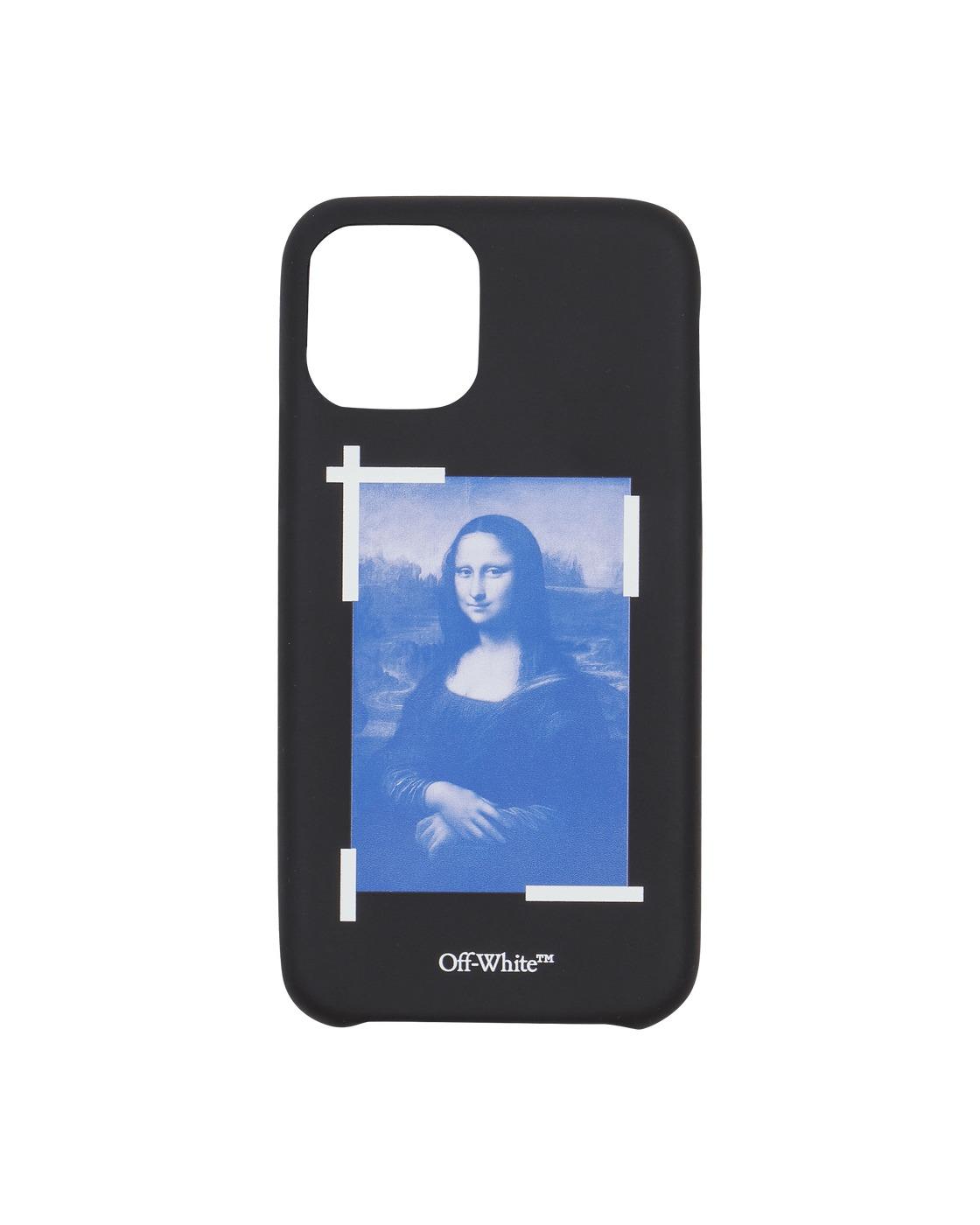 Photo: Off White Monalisa Iphone 11 Pro Case Black/White