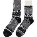 Sacai Grey Dr. Woo Edition Cotton Socks