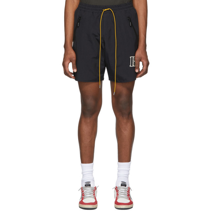Photo: Rhude Black Logo Shorts