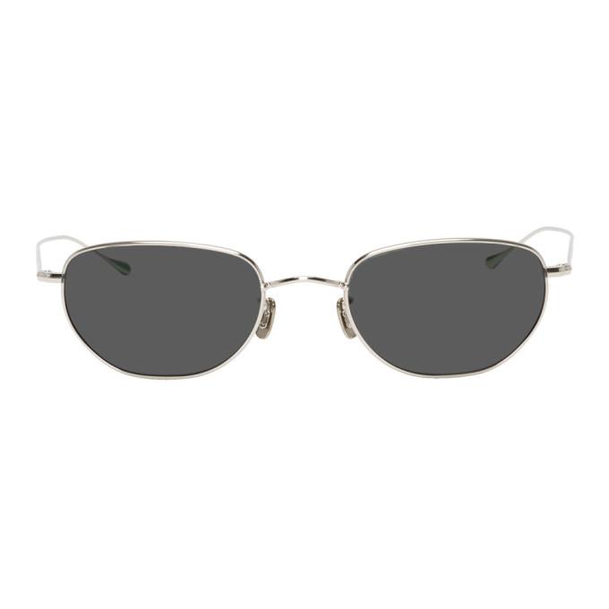 Photo: Eyevan 7285 Silver 16152 Sunglasses