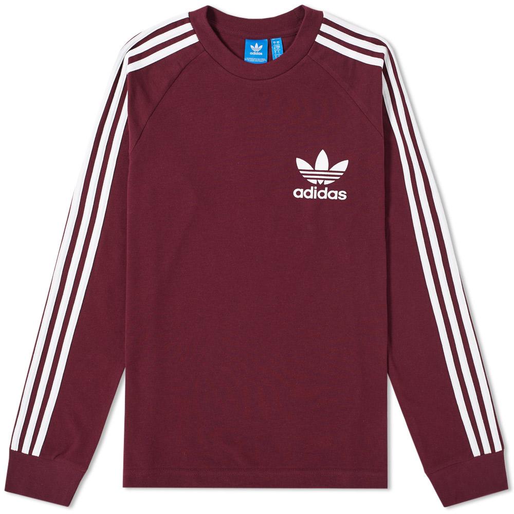 Adidas Long Sleeve Pique Tee