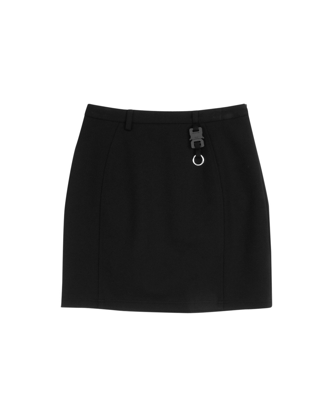 Photo: 1017 Alyx 9sm Cindy Nylon Buckle Skirt Black