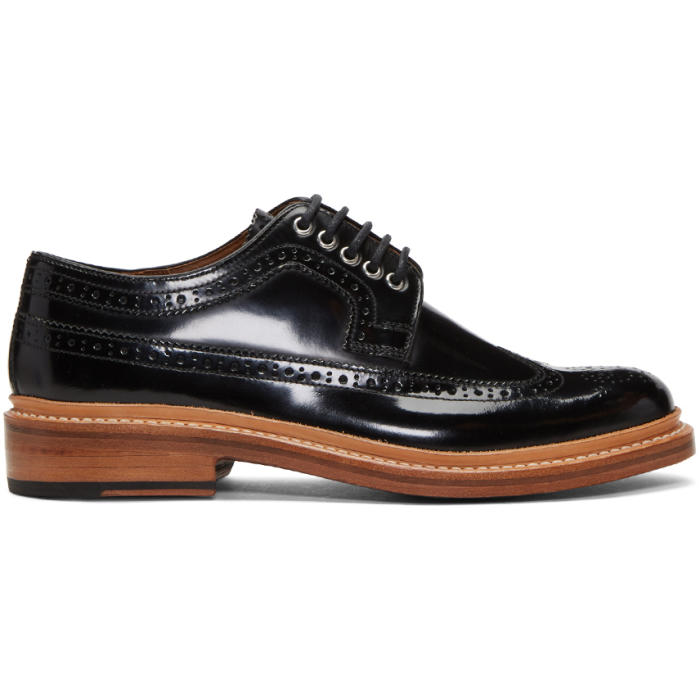 Photo: Grenson Black Patent Sid Brogues