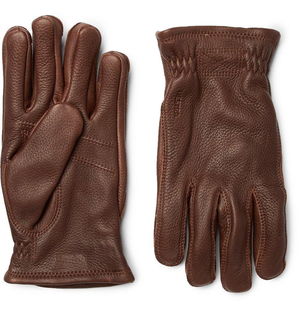 Photo: Hestra - Sarna Leather Gloves - Men - Brown