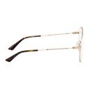 MCQ Gold Aviator Glasses