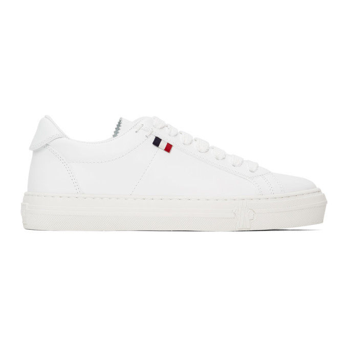 Photo: Moncler White Alodie Sneakers