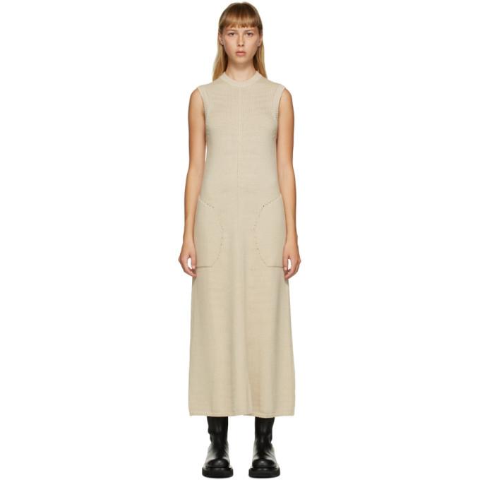 Photo: Peter Do Beige Sleeveless Knit Dress