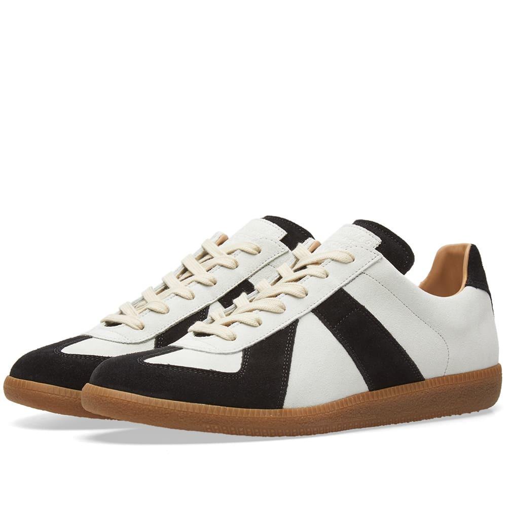 Photo: Maison Margiela 22 Replica Low Suede Sneaker