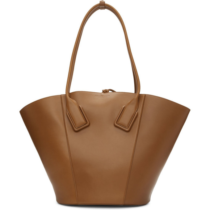 Photo: Bottega Veneta Brown Medium Basket Tote