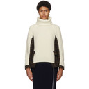 Sacai Off-White Wool Turtleneck