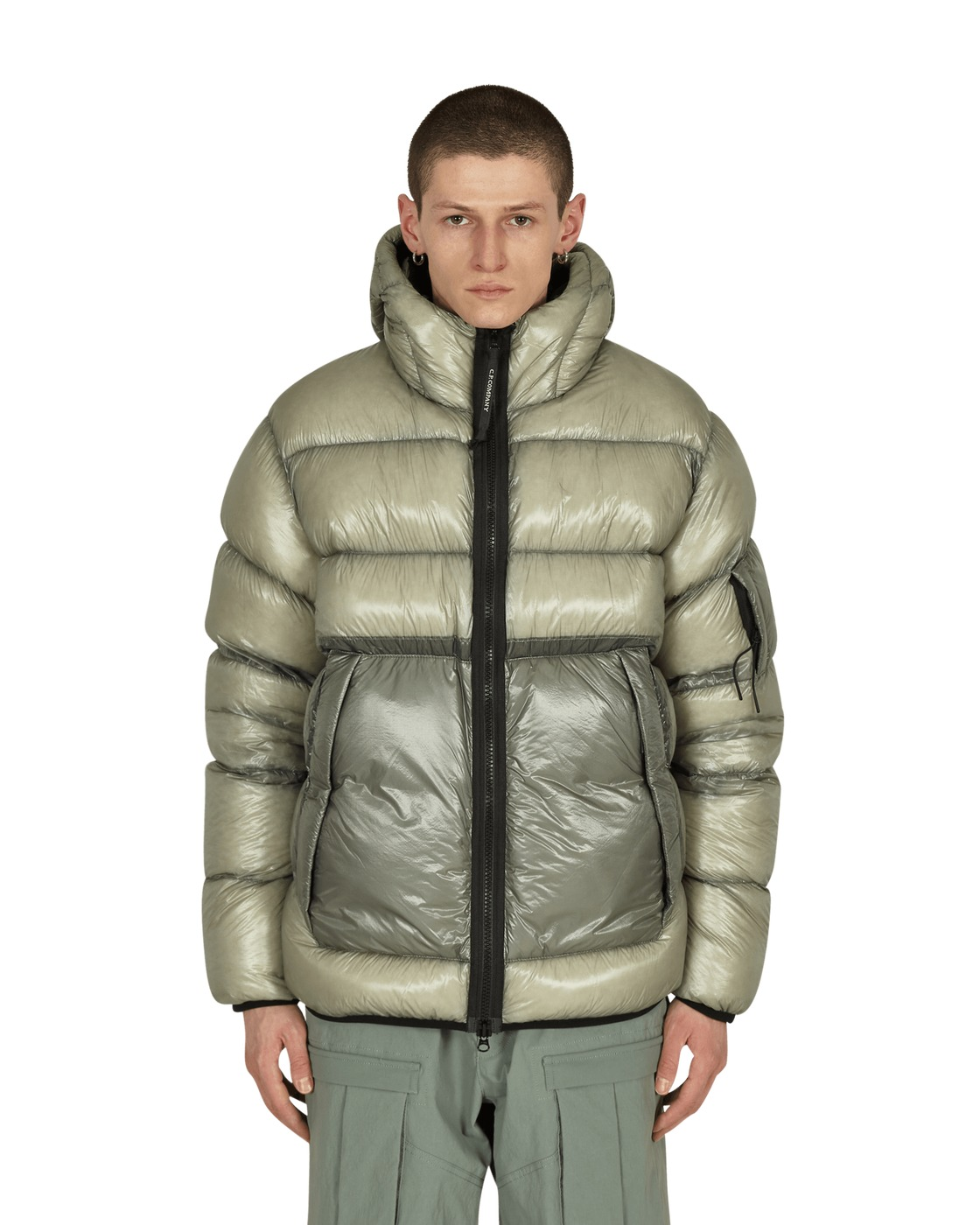 Photo: C.P. Company Shell Down Jacket Quiet Gray