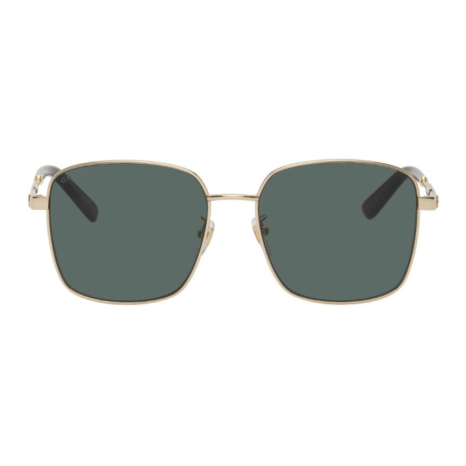 Photo: Gucci Gold GG0852SK Sunglasses