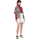 3.1 Phillip Lim White Paper Bag Shorts
