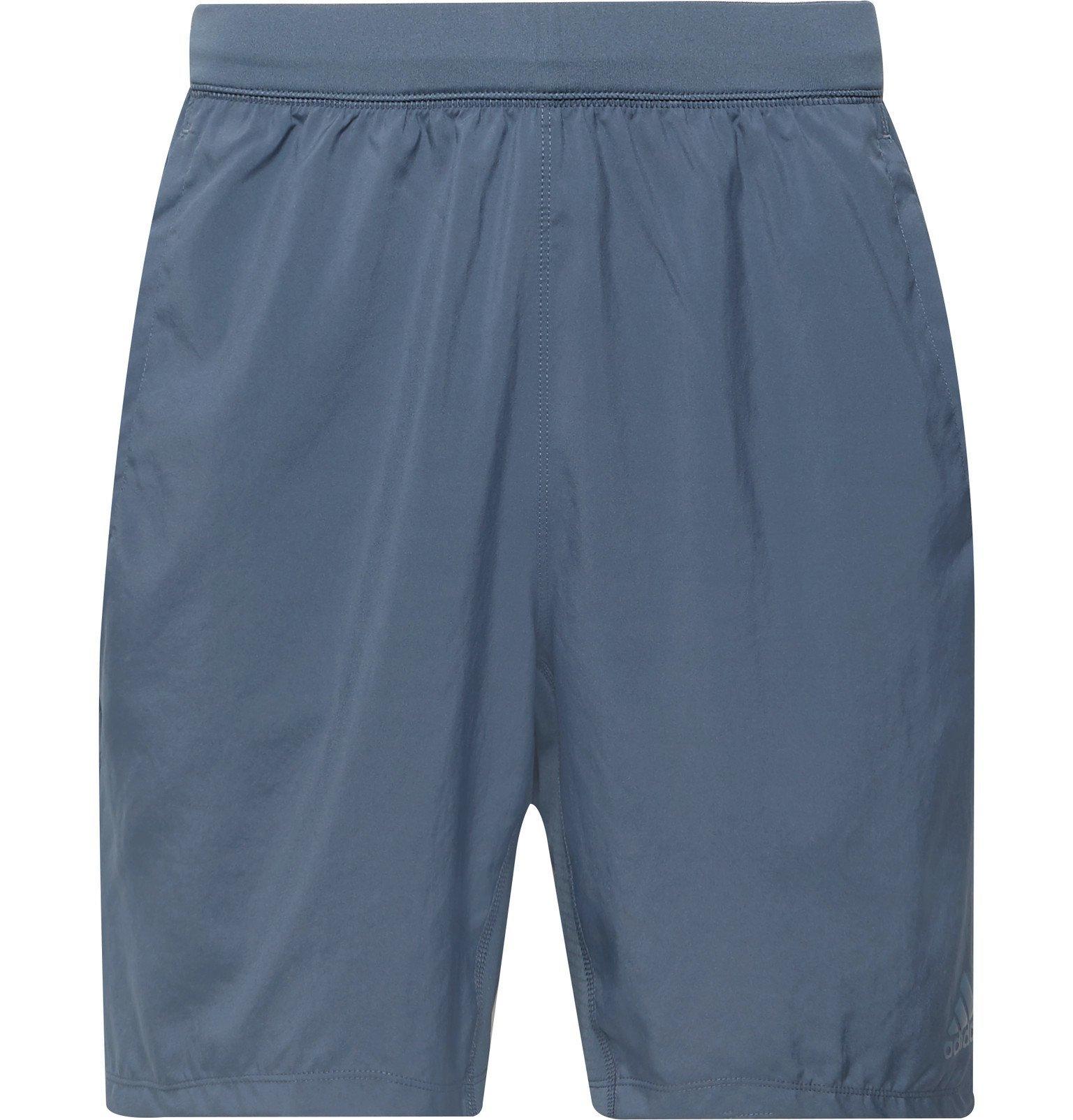 Photo: Adidas Sport - 4KRFT Climalite Shorts - Blue