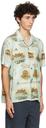 RRL Blue Camp Short Sleeve Shirt