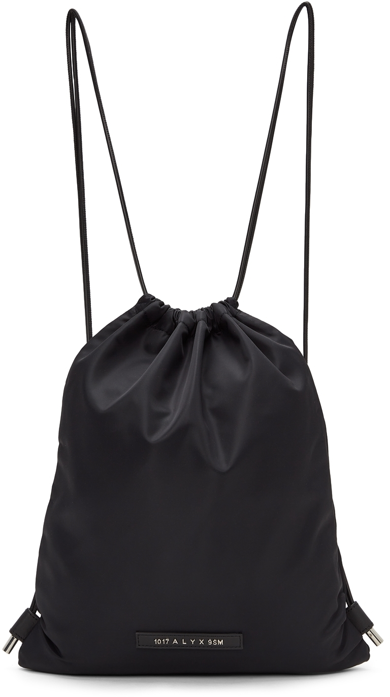 Photo: 1017 ALYX 9SM Black Re-Nylon Drawstring Backpack