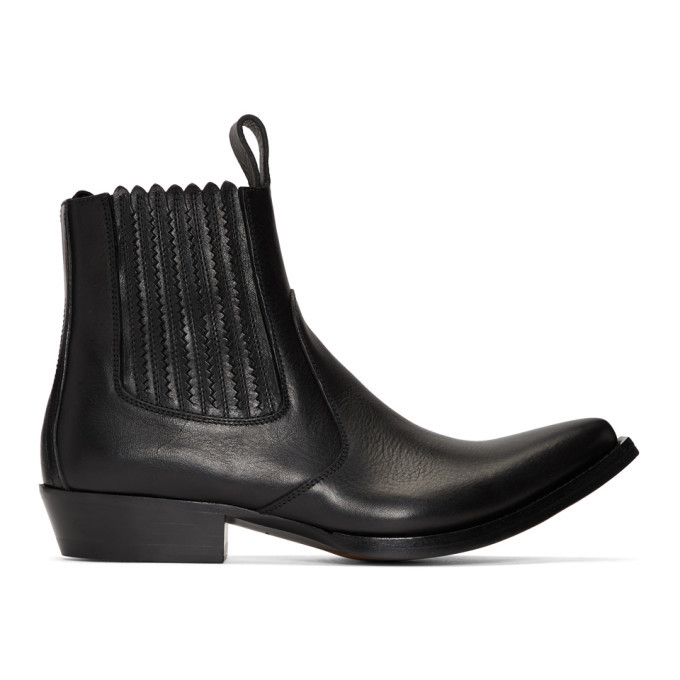 Photo: Givenchy Black CB3 Chelsea Boots