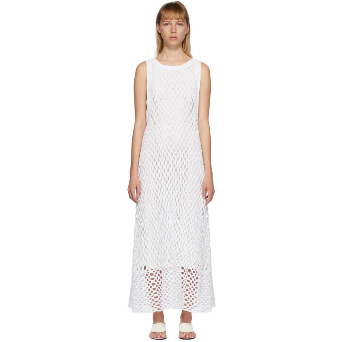 Photo: The Row White Atis Dress