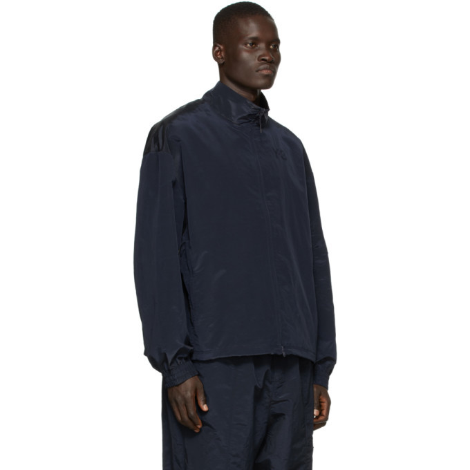 Y-3 Navy Classic Shell Track Jacket