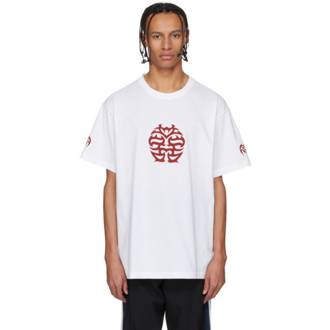 Photo: VETEMENTS White Double Happiness T-Shirt