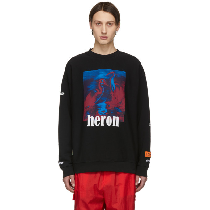 Photo: Heron Preston Black Birds Sweatshirt