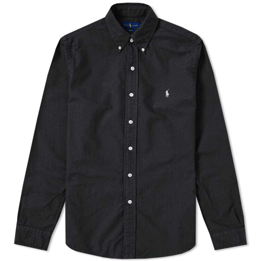 Photo: Polo Ralph Lauren Slim Fit Garment Dyed Button Down Shirt