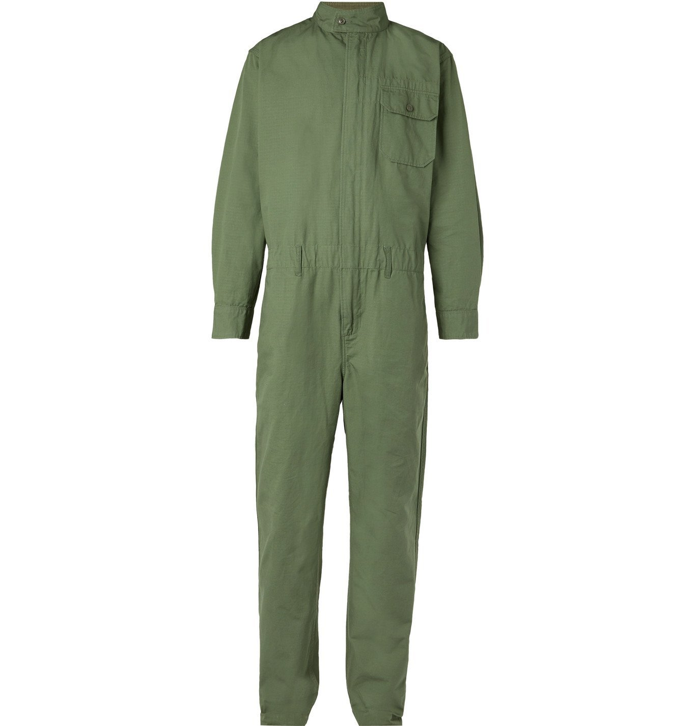 Photo: Engineered Garments - Cotton-Ripstop Jumpsuit - Green